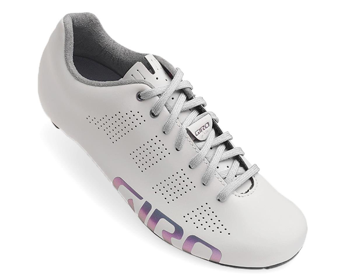 Giro Empire Women ACC Lace Up Road Shoe (White Reflective) (39)
