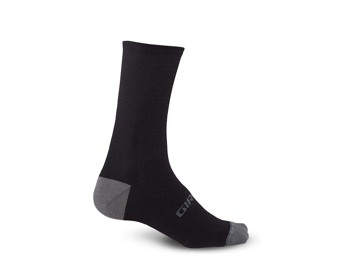 Giro HRc+ Merino Wool Socks (Black/Charcoal) (XL)