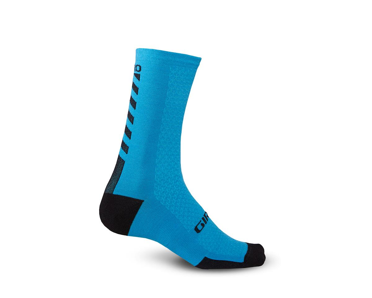 Giro HRc+ Merino Wool Socks (Blue Jewel/Black) (L)