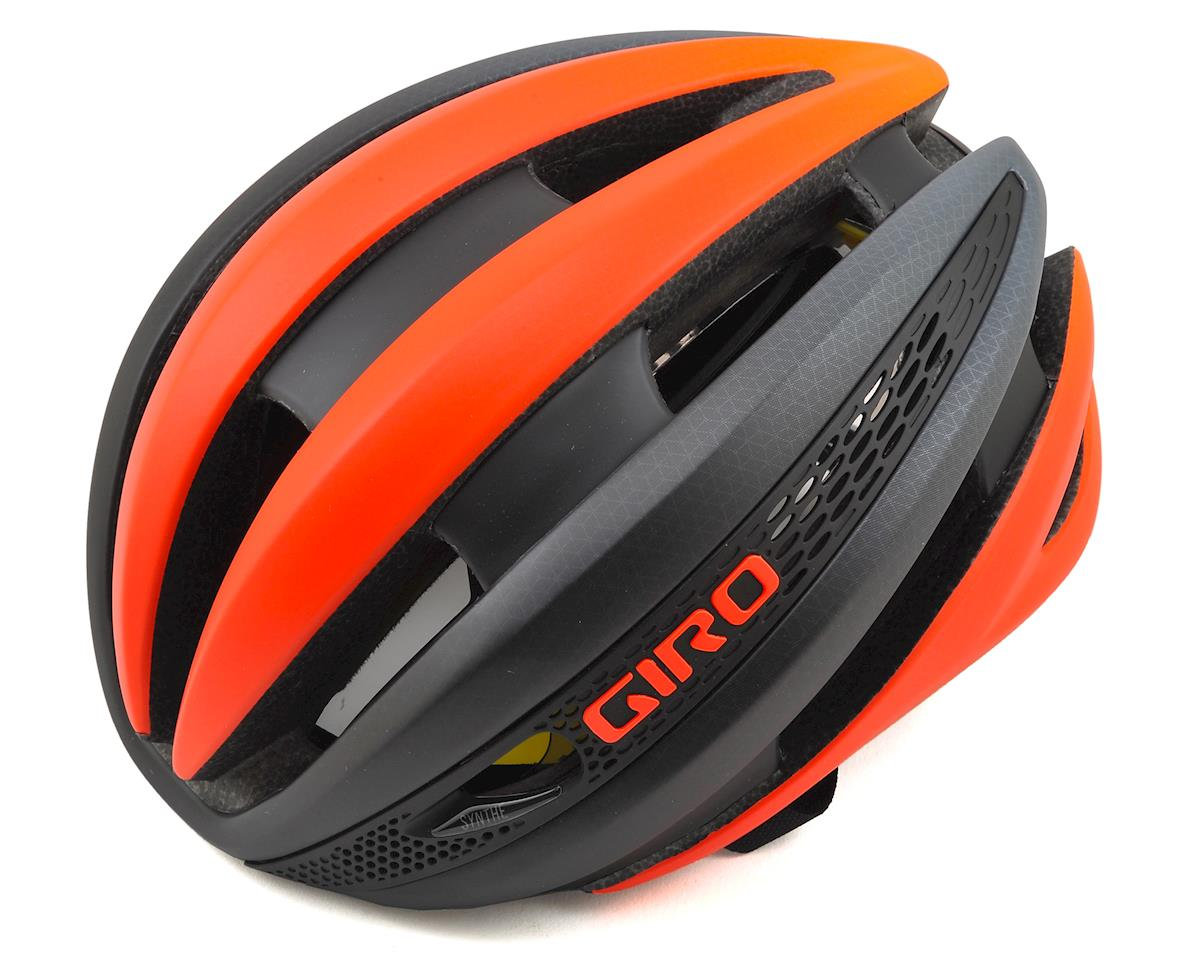 Giro Synthe MIPS Road Helmet (Matte Vermillion/Charcoal)