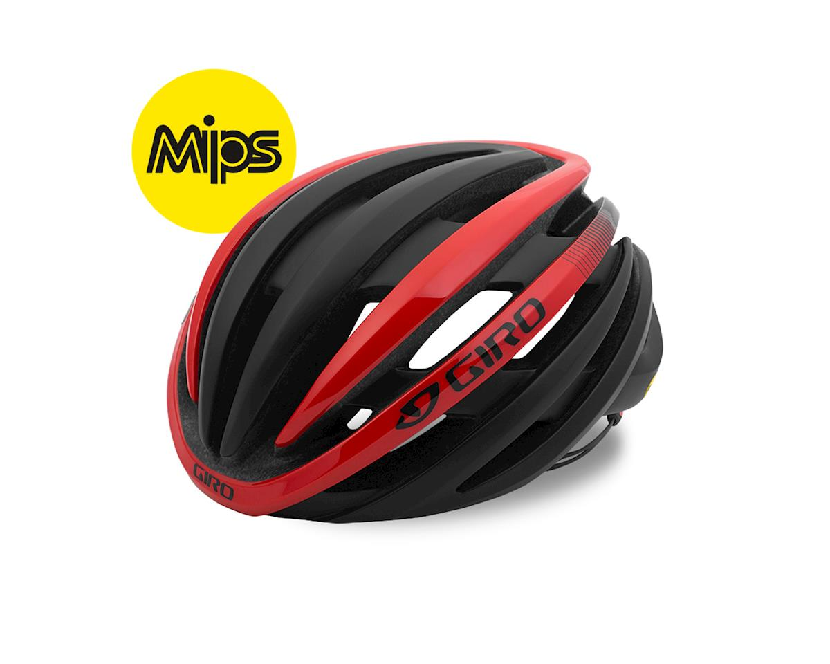 Giro Cinder MIPS Road Helmet (Matte Black/Red)