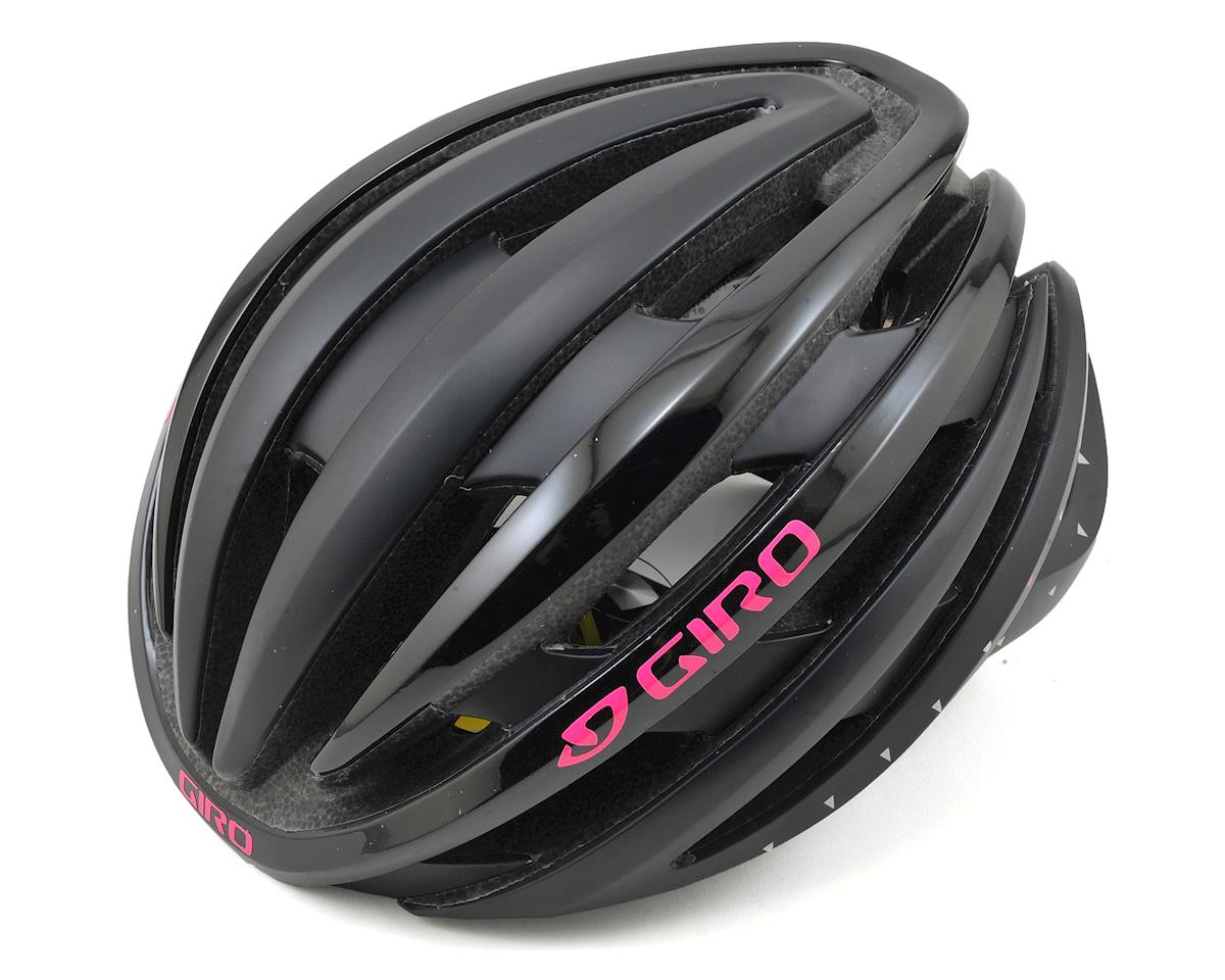 Giro Ember MIPS Women's Road Helmet (Matte Black/Bright Pink) (S)
