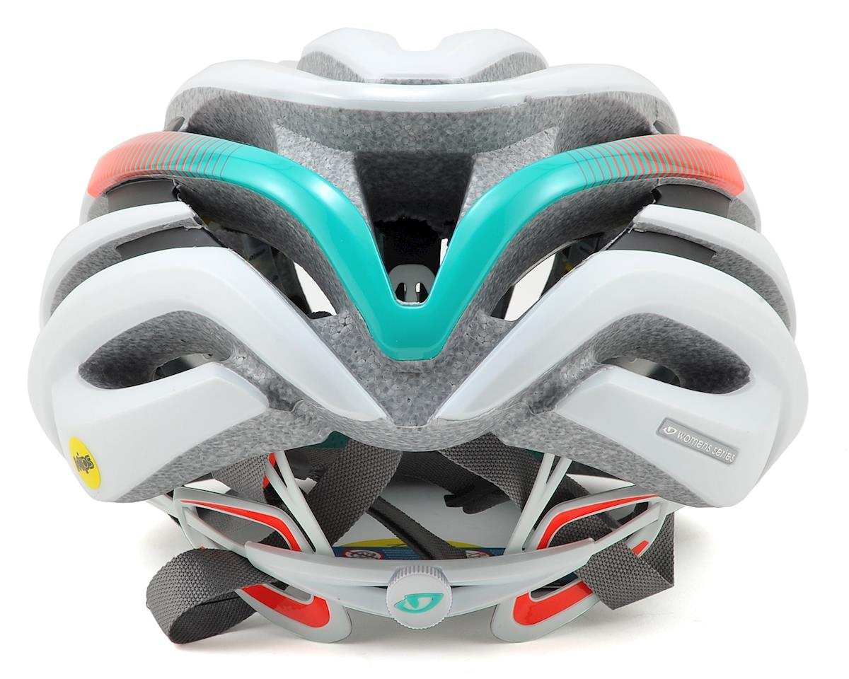 Giro Cinder MIPS Road Bike Helmet (Matte White/Turquoise/Vermillion) (S)