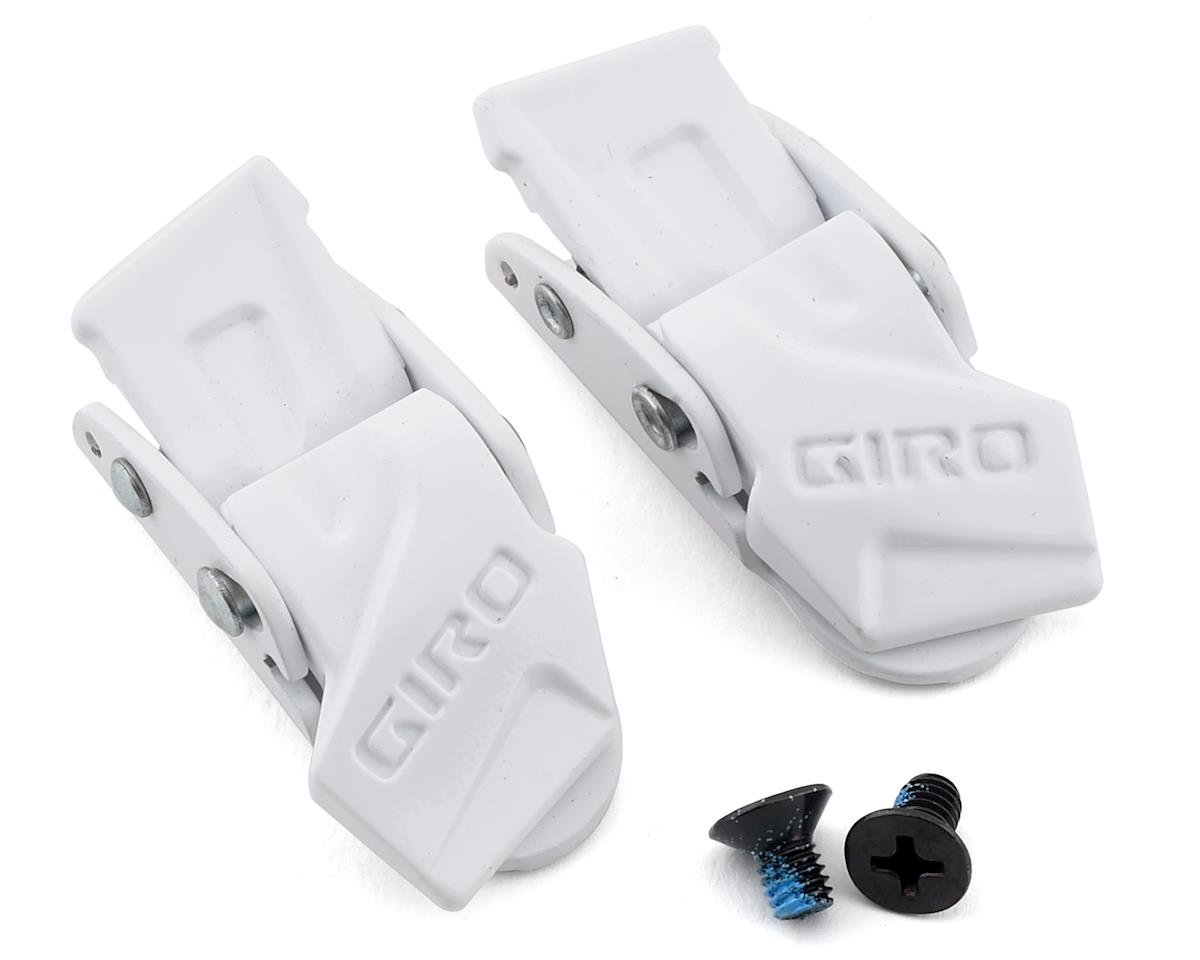 Giro N-1 Buckle Set (White Gloss)
