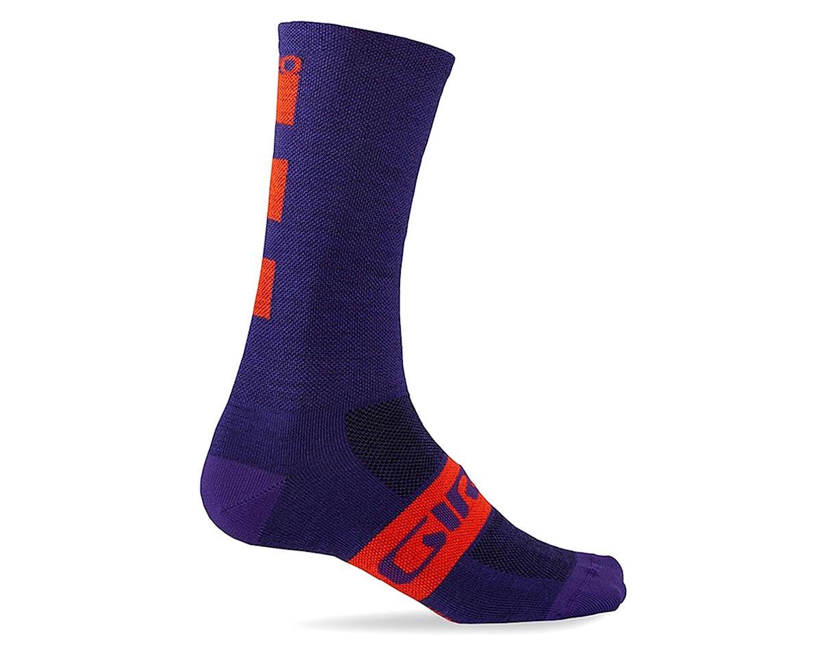 Giro Seasonal Merino Wool Socks (Ultraviolet) (S)