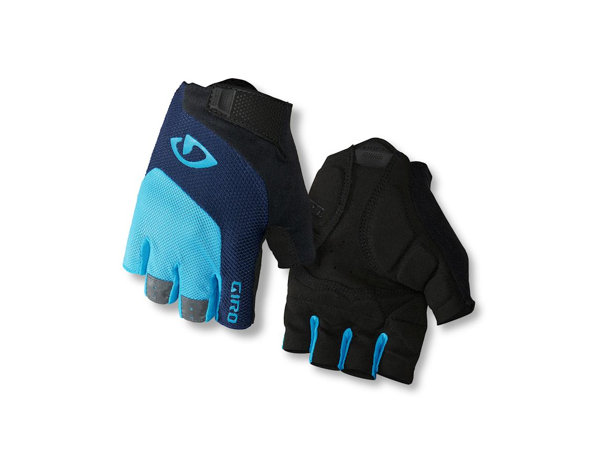 Giro Bravo Gel Gloves (Black/Blue/Light Blue)