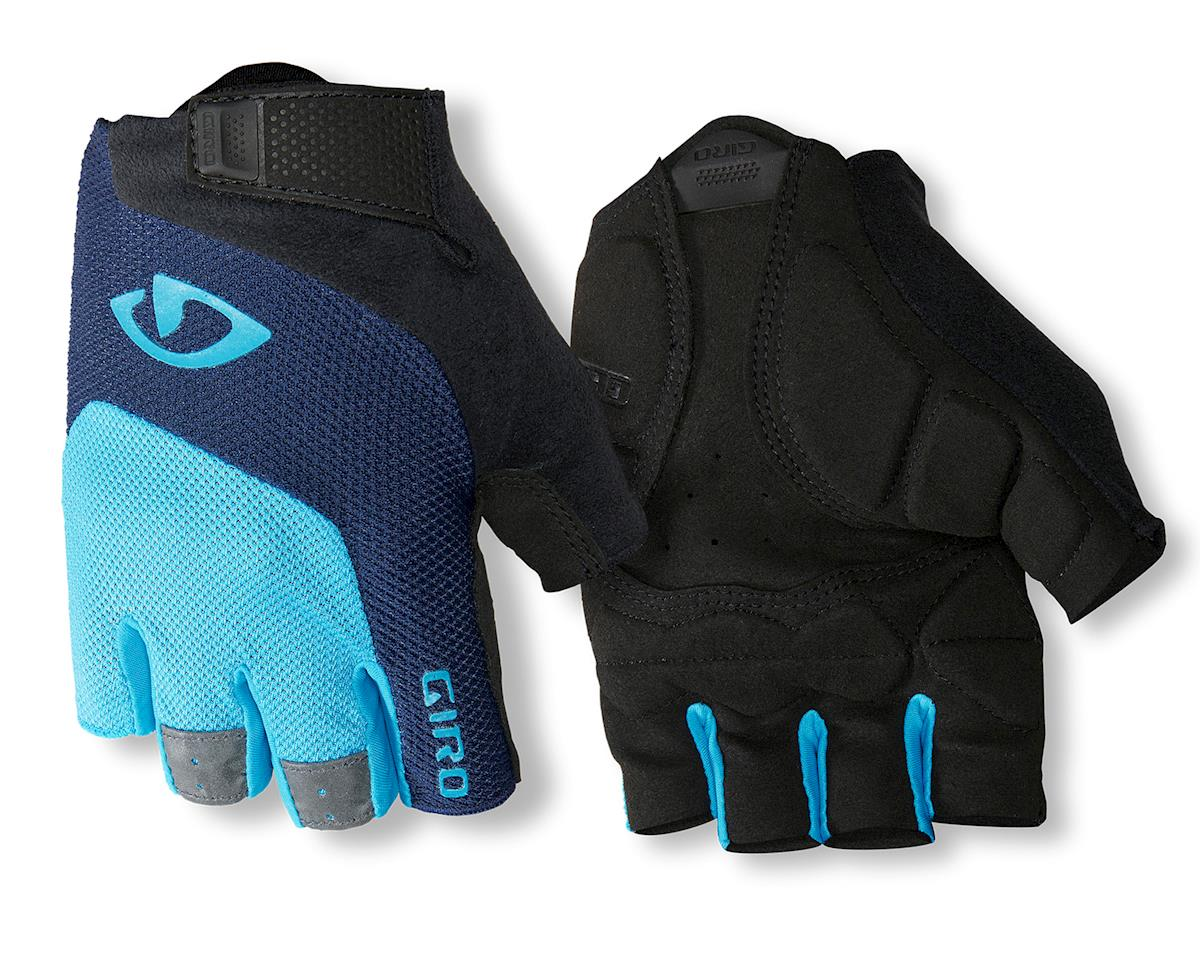 Giro Bravo Gel Gloves (Black/Blue/Light Blue) (L)