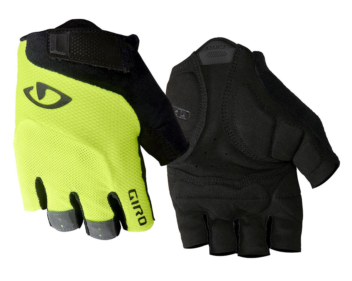 Giro Bravo Gel Gloves (Yellow/Black) (L)