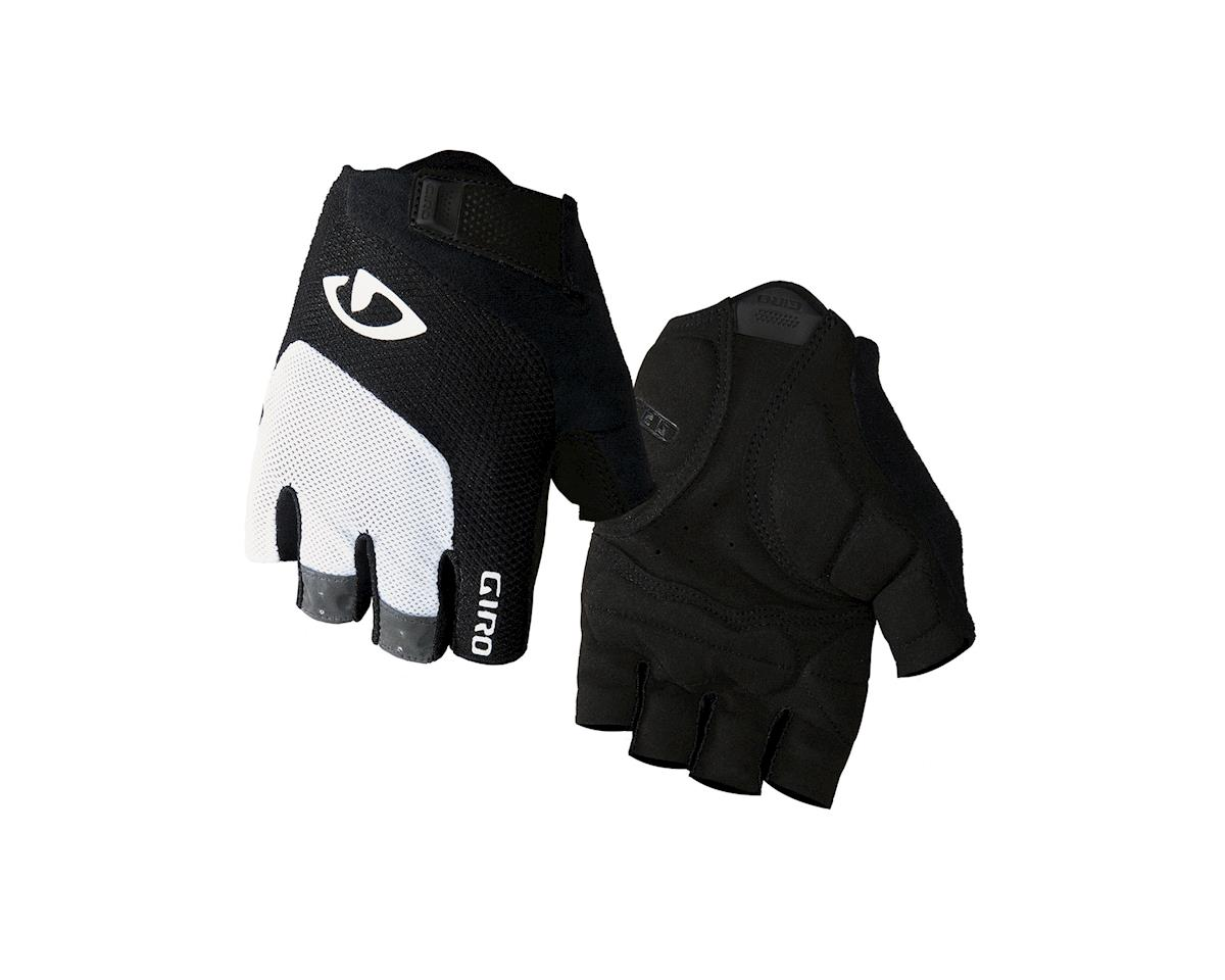 Giro Bravo Gel Gloves (White/Black)
