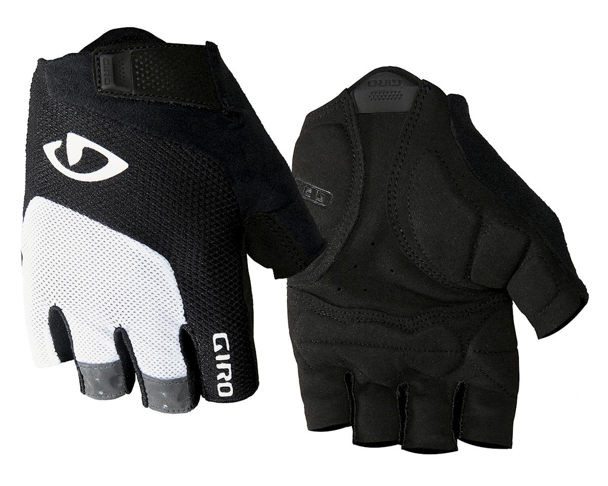 Giro Bravo Gel Gloves (White/Black) (M)