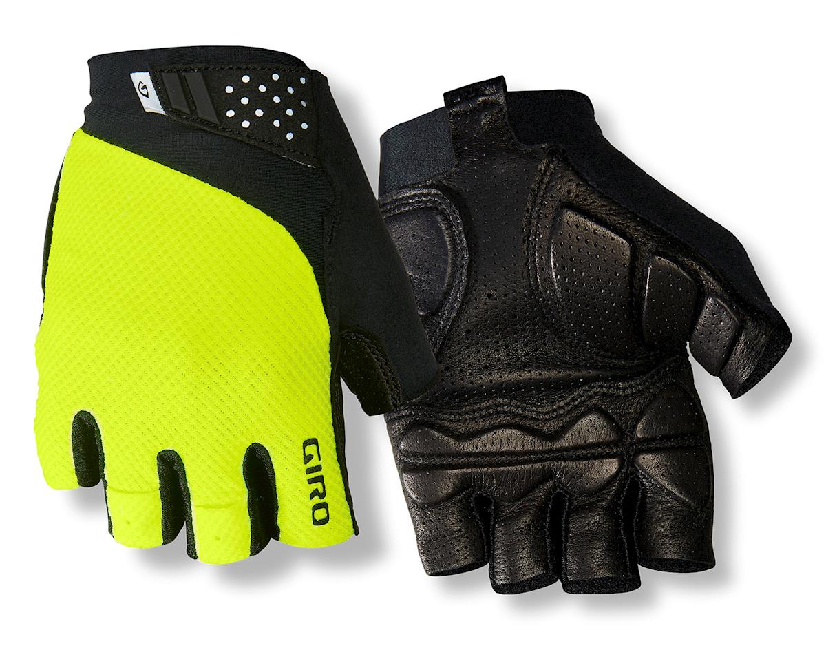 Giro Monaco II Gel Bike Gloves (Hi Vis Yellow) (L)