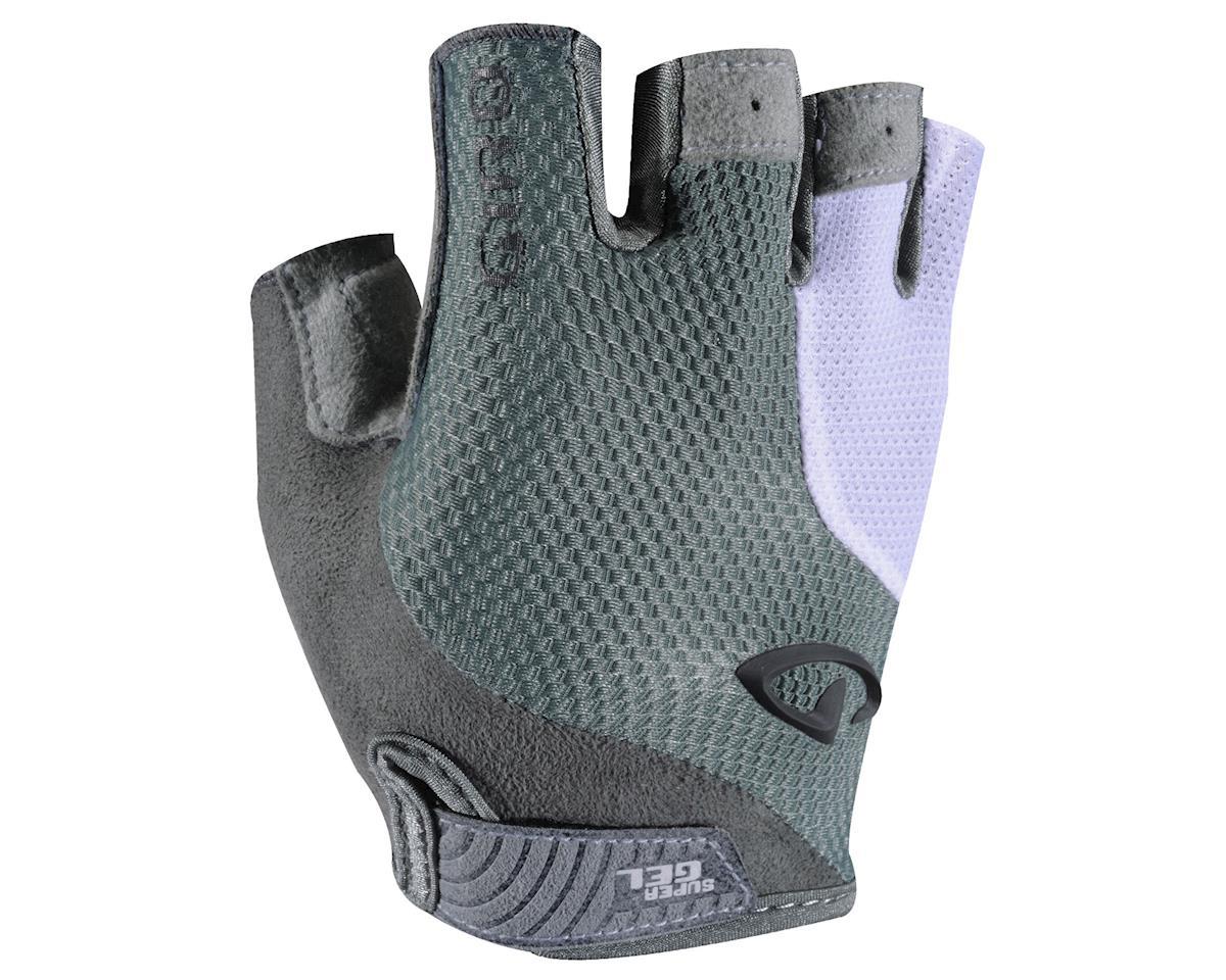 Giro Women's Strada Massa Supergel Gloves (Titanium Grey/White) (L)