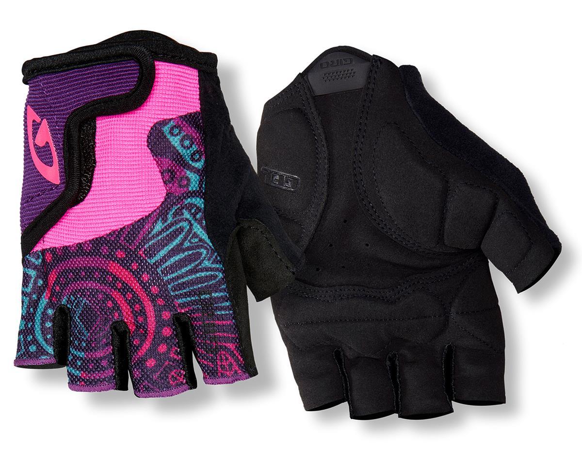 Giro Bravo Jr Gloves (Retro Blue/Red/Black) (M)