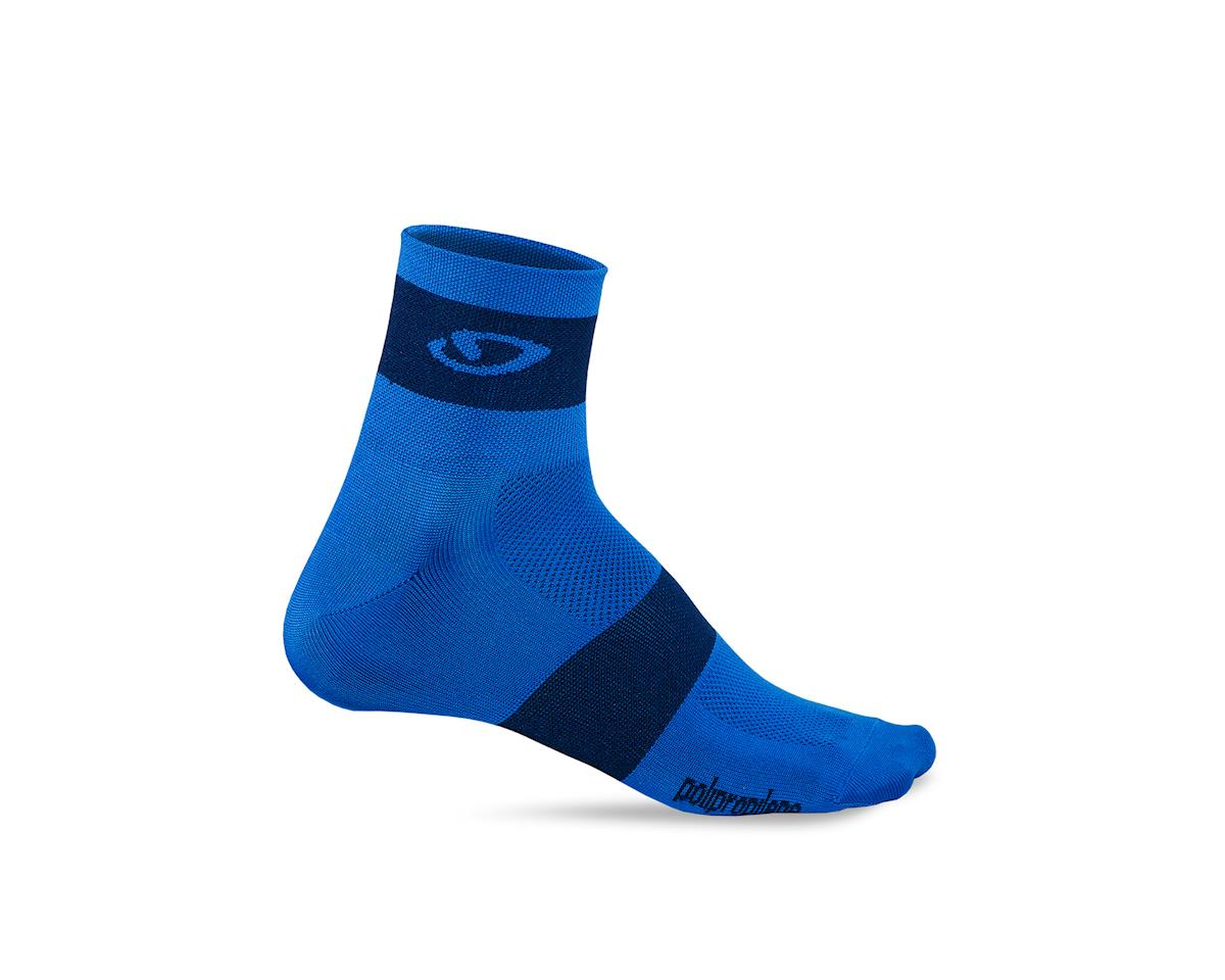 Giro Comp Racer Socks (Blue/Midnight) (XL)