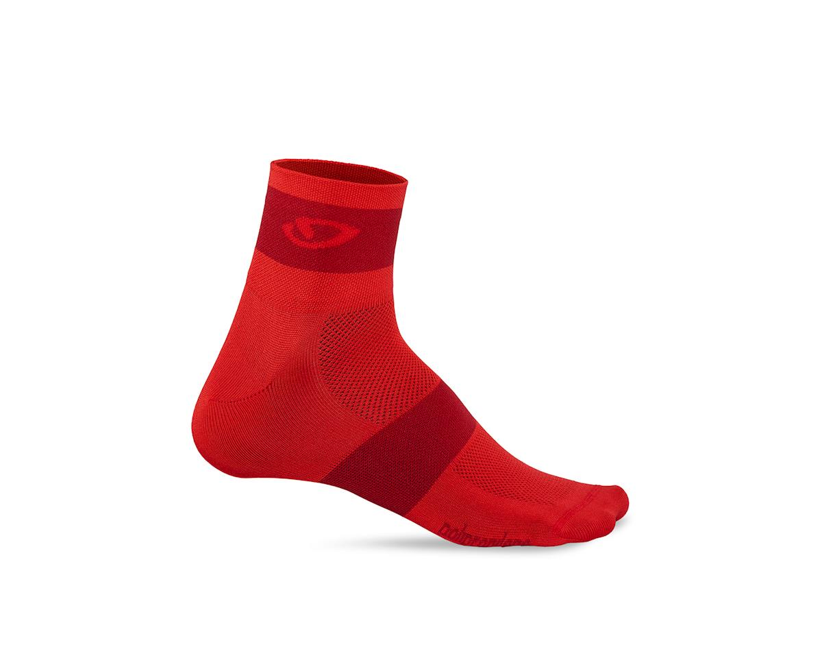 Giro Comp Racer Socks (Bright Red/Dark Red) (XL)