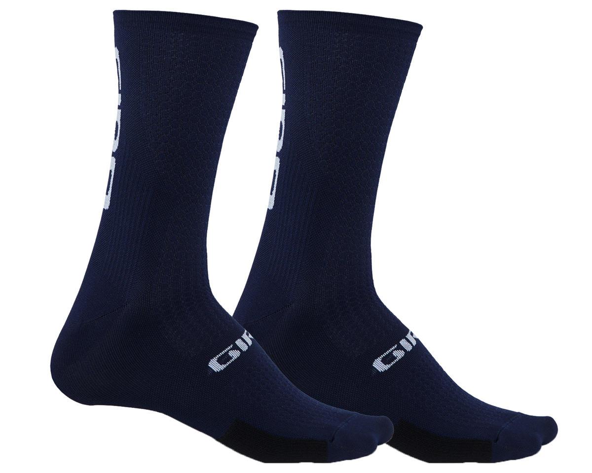 Giro HRc Team Socks (Midnight Black/White) (XL)