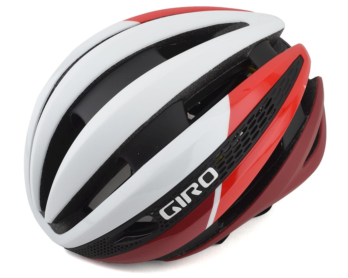 Giro Synthe MIPS Road Helmet (Matte White Red) (M)