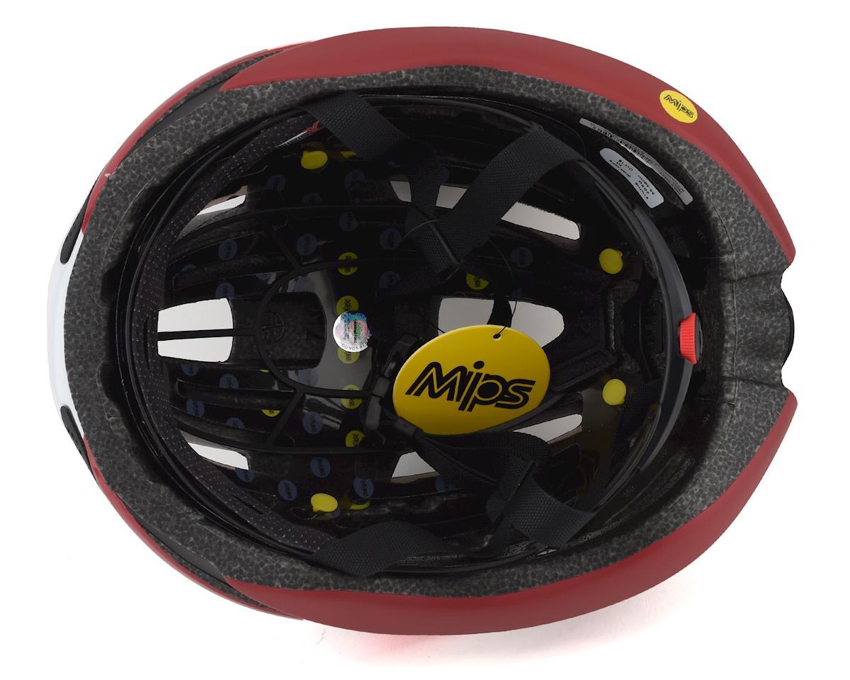 Giro Synthe MIPS Road Helmet (Matte White Red) (M)