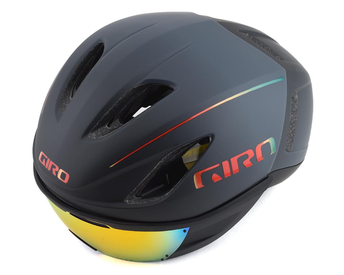 Giro Vanquish MIPS Road Helmet (Matte Grey Fire) (L)