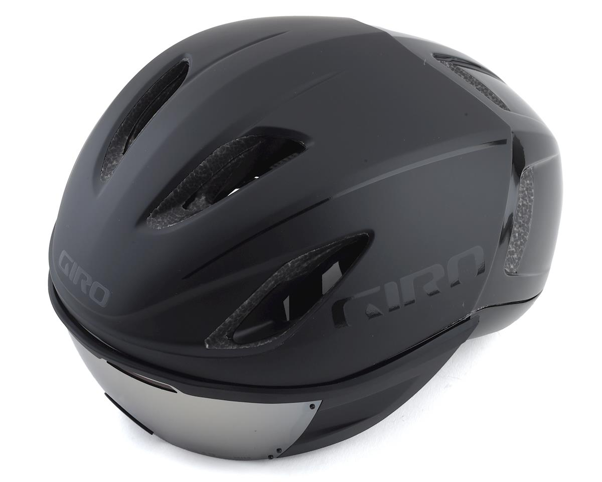 Giro Vanquish MIPS Road Helmet (Matte Gloss Black) (L)