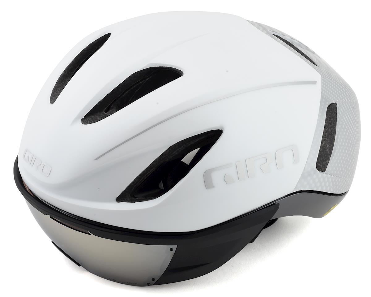 Giro Vanquish MIPS Road Helmet (Matte White/Silver)