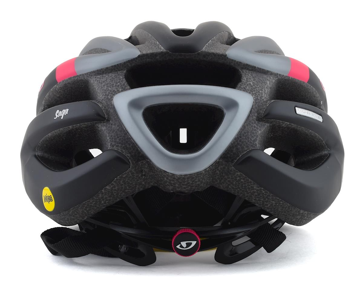 Image 2 for Giro Saga MIPS Women's Road Helmet (Matte Black/Pink) (M)