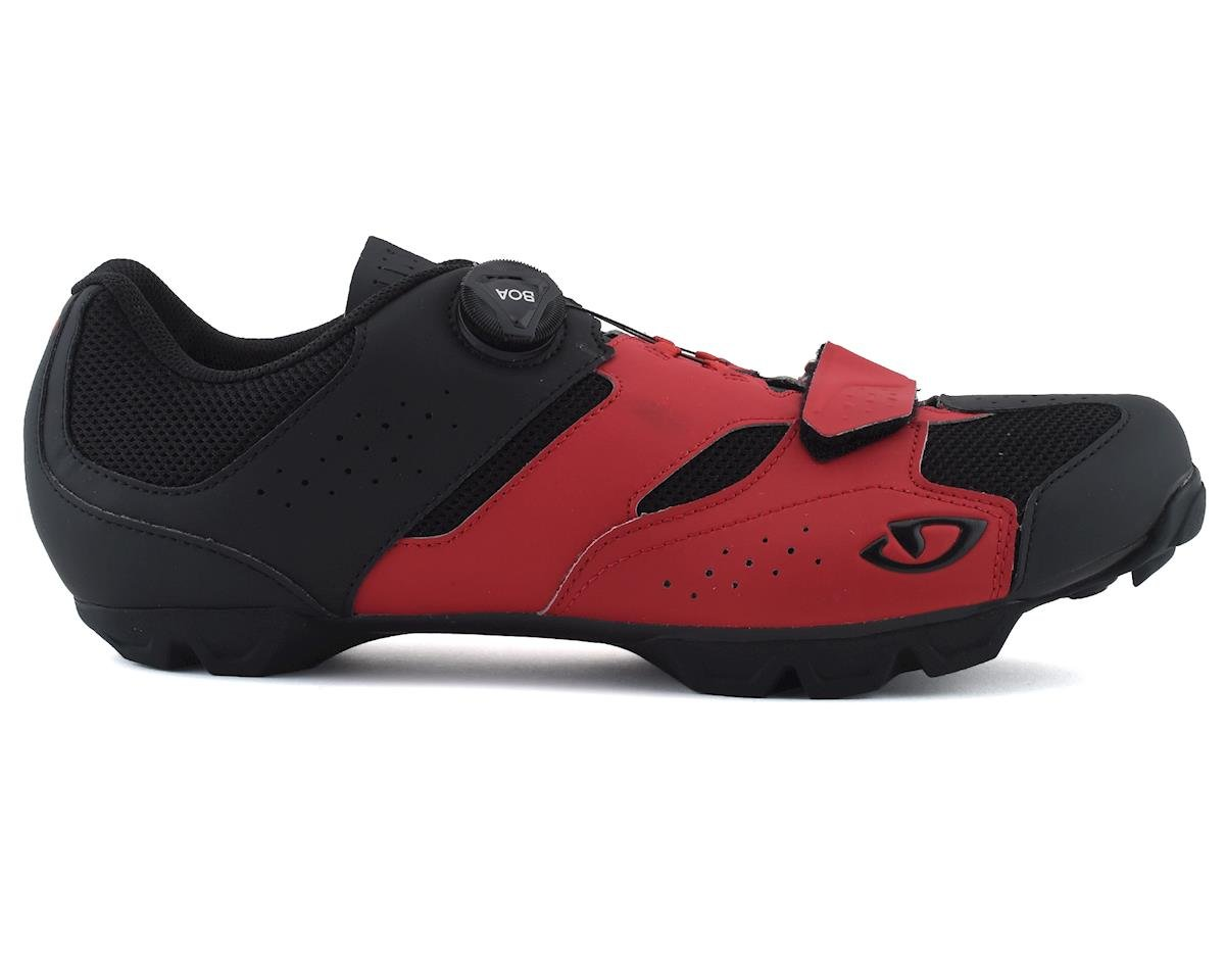 Giro Cylinder Mountain Bike Shoe (Dark Red/Black) (43)