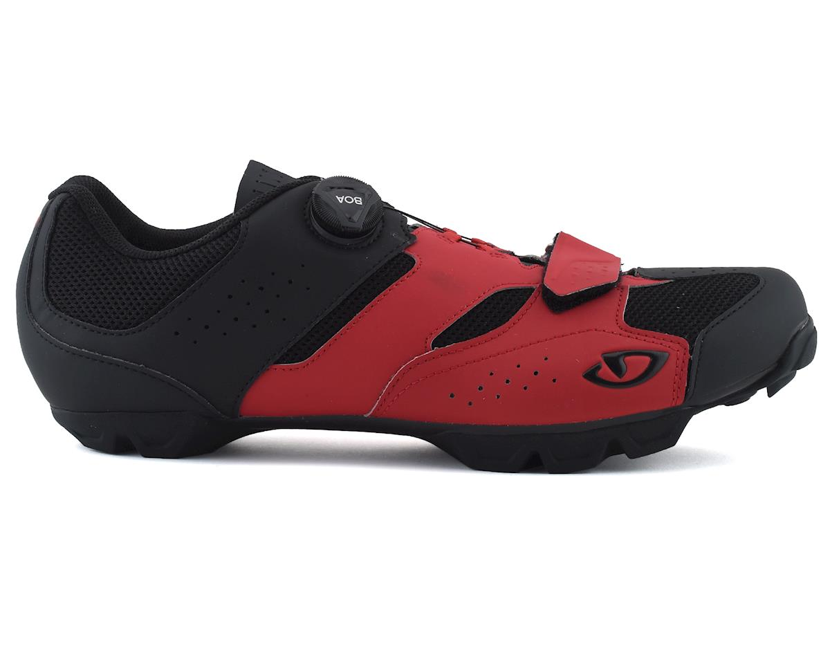 Giro Cylinder Mountain Bike Shoe (Dark Red/Black) (45)