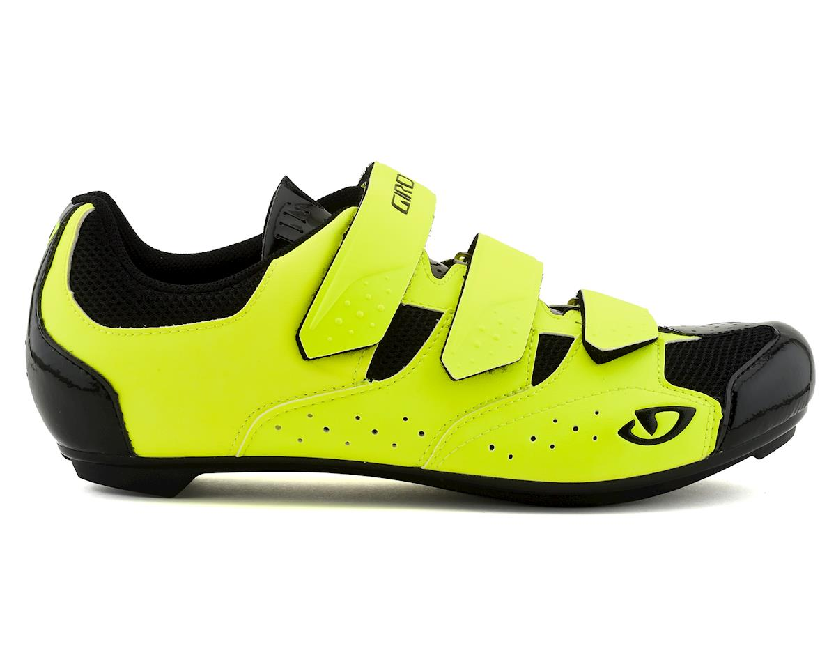 Giro Techne Road Shoes (Hi-Yellow) (42)