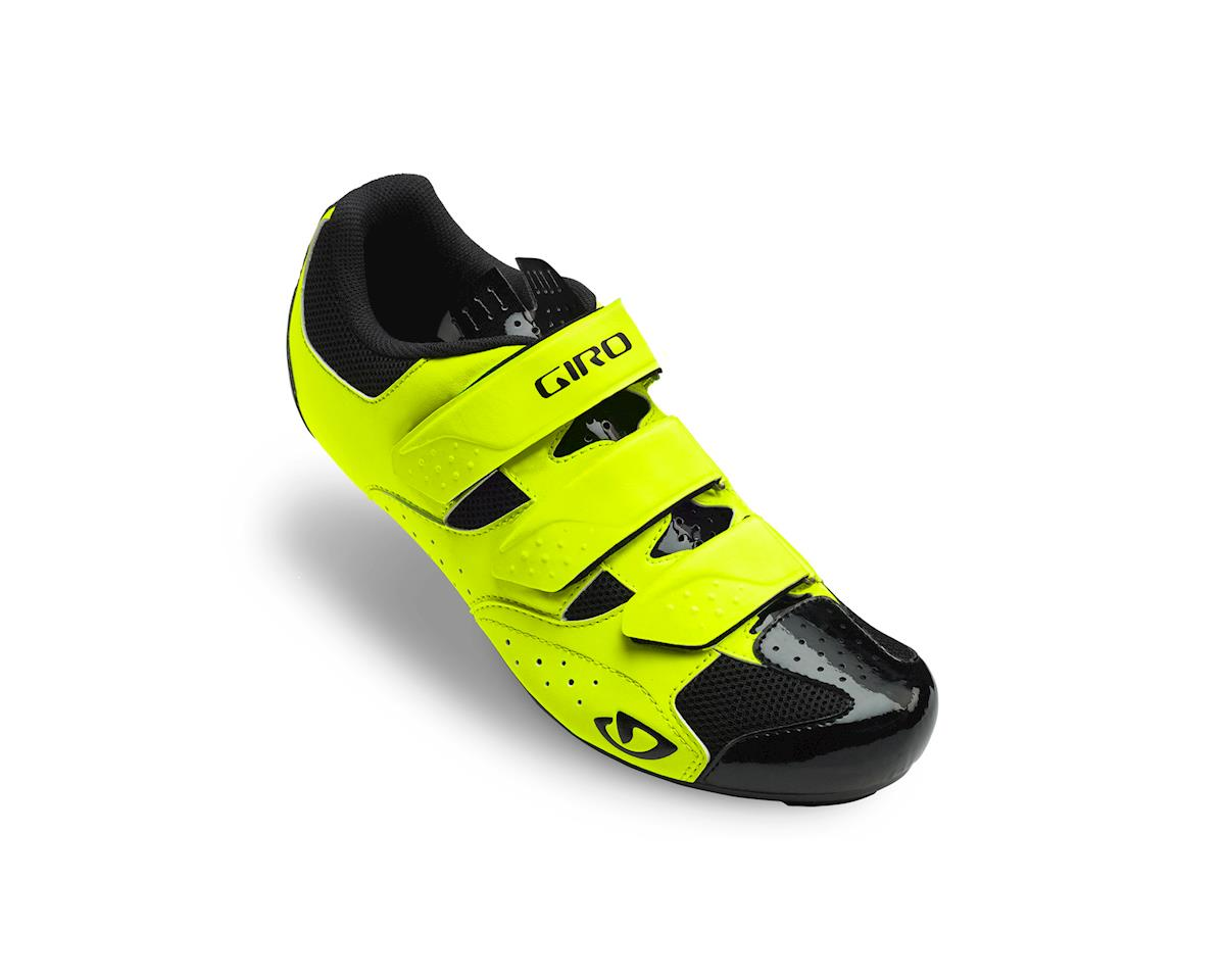 Giro Techne Road Shoes (Hi-Yellow) (50)