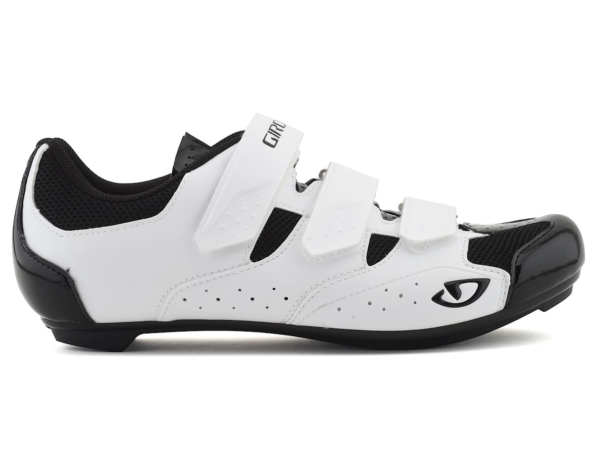 Giro Techne Road Shoes (White/Black) (42)