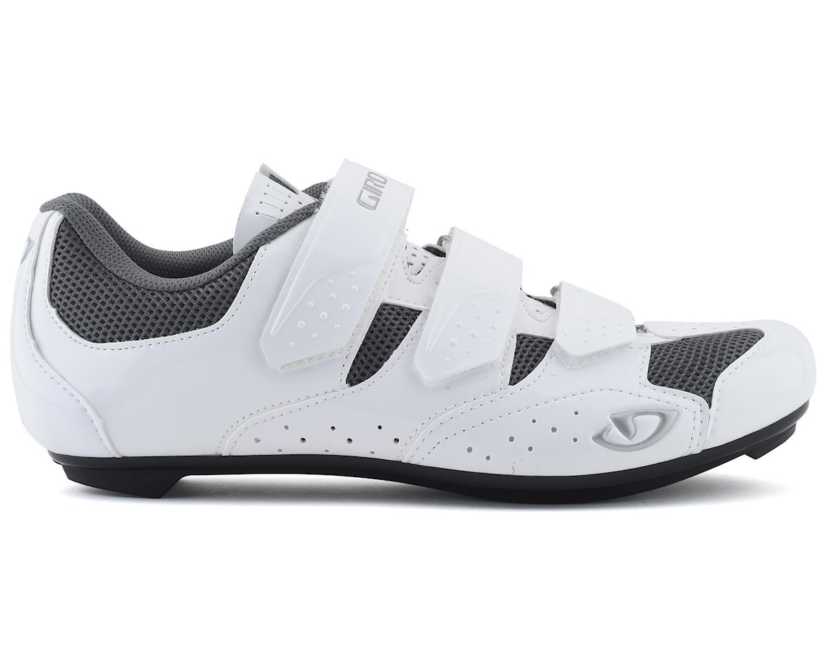 Giro Women's Techne Road Shoes (White/Silver) (41)