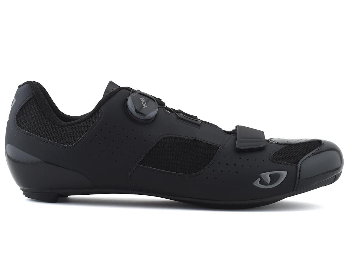 Giro Trans Boa Road Shoes (Black) (48)