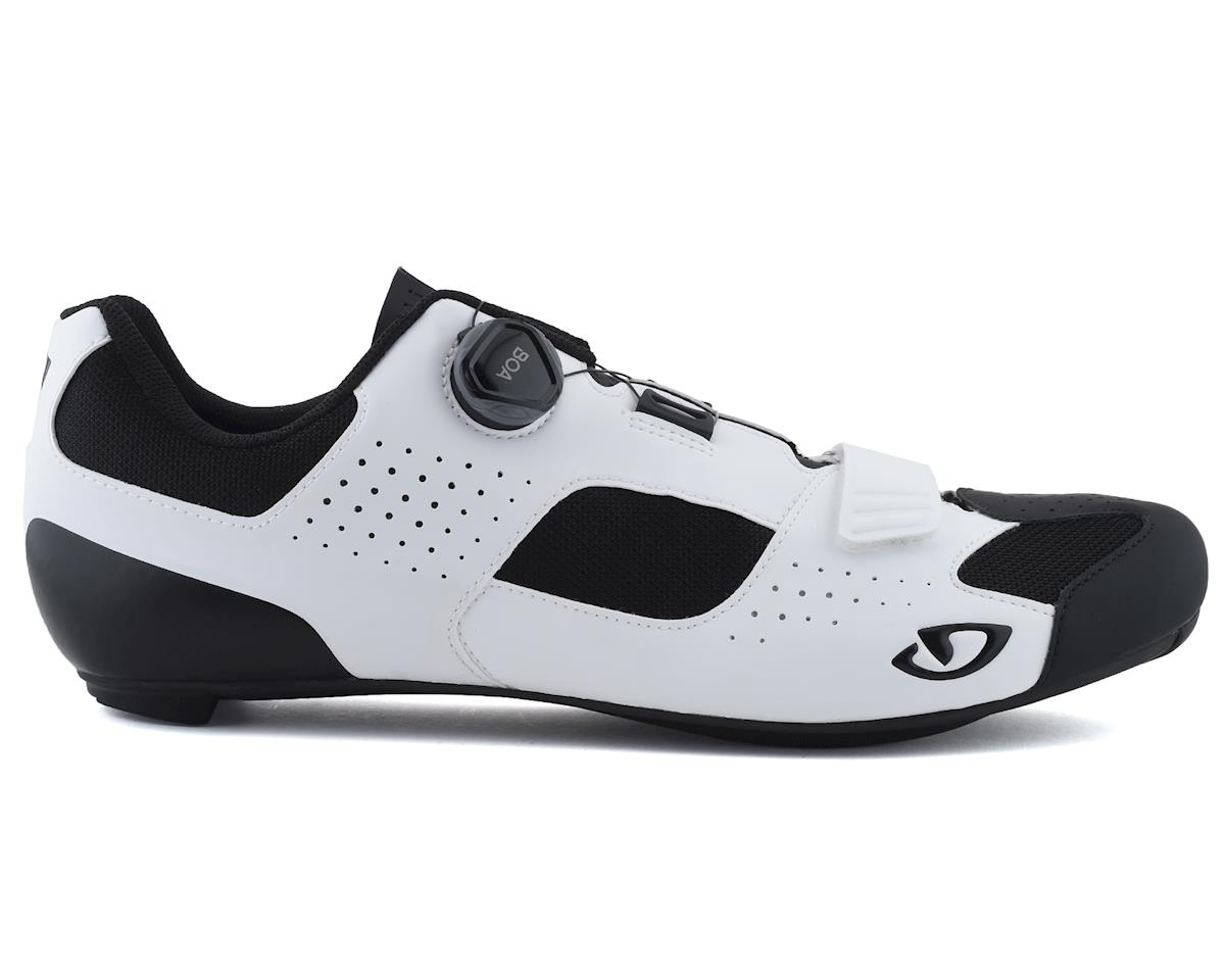 Giro Trans Boa Road Shoes (White/Black) (45)