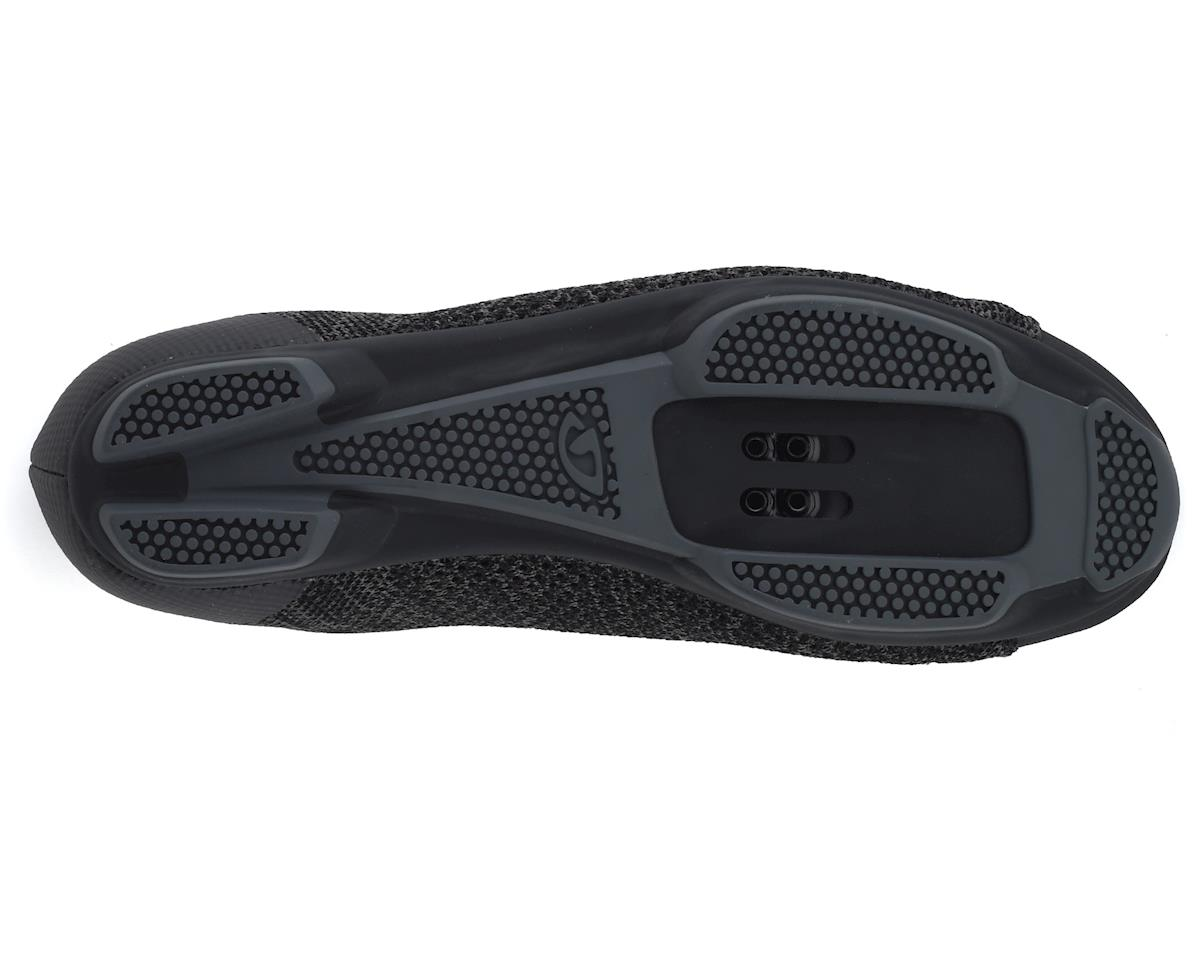 Giro Republic R Knit Cycling Shoe (Black/Charcoal Heather) (40)