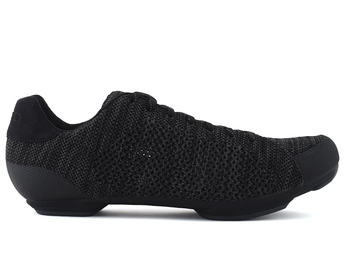 Giro Republic R Knit Cycling Shoe (Black/Charcoal Heather) (47)