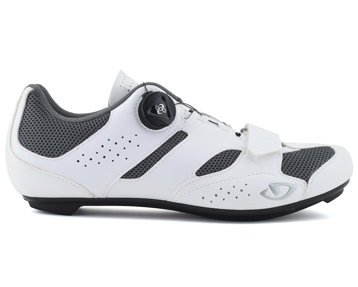 Giro Savix Women's Road Shoes (White/Titanium) (40)