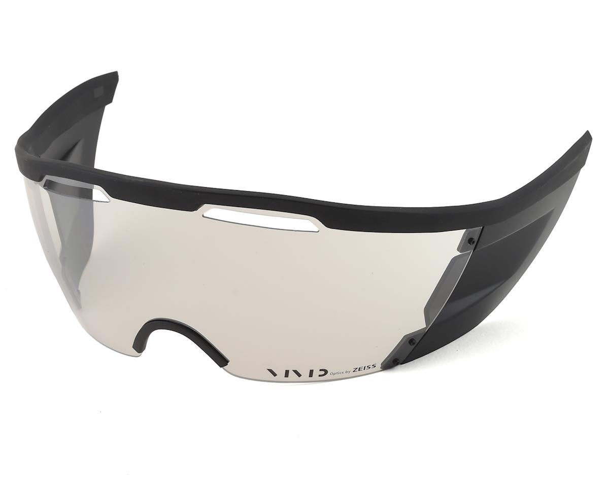 Giro Vanquish Sheild (Clear Silver)