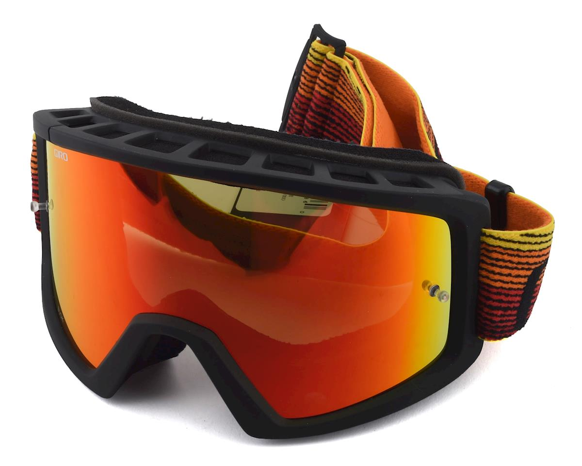 Giro Blok Mountain Goggles (Orange/Black Heatwave) (Amber Lens)