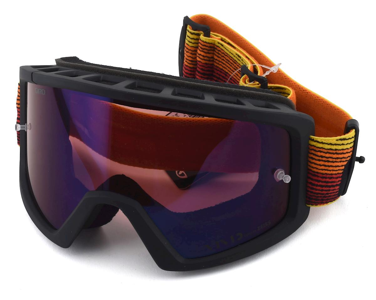 Giro Blok Mountain Goggles (Orange/Black Heatwave) (Vivid Trail Lens)