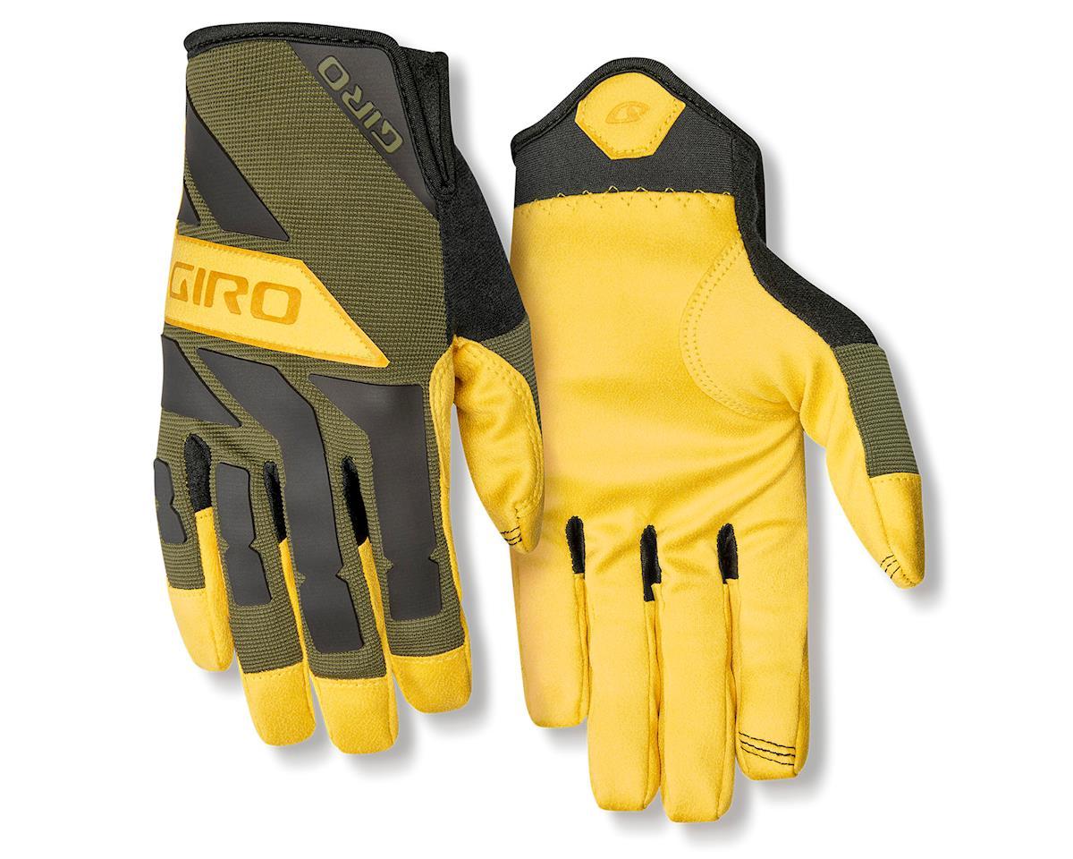 Giro Trail Builder Gloves (Olive/Buckskin) (XL)