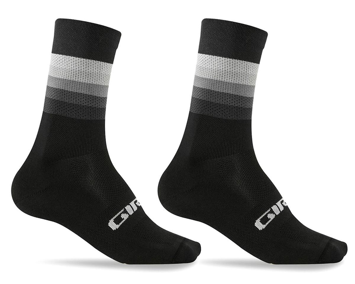 Giro Comp Racer High Rise Socks (Black Heatwave) (L)