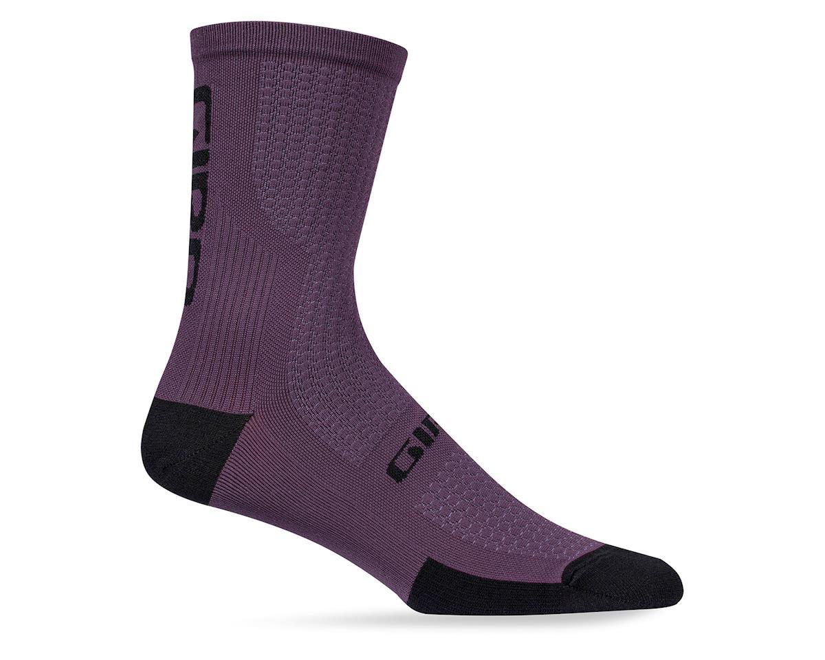 Giro HRc Team Socks (Purple) (XL)