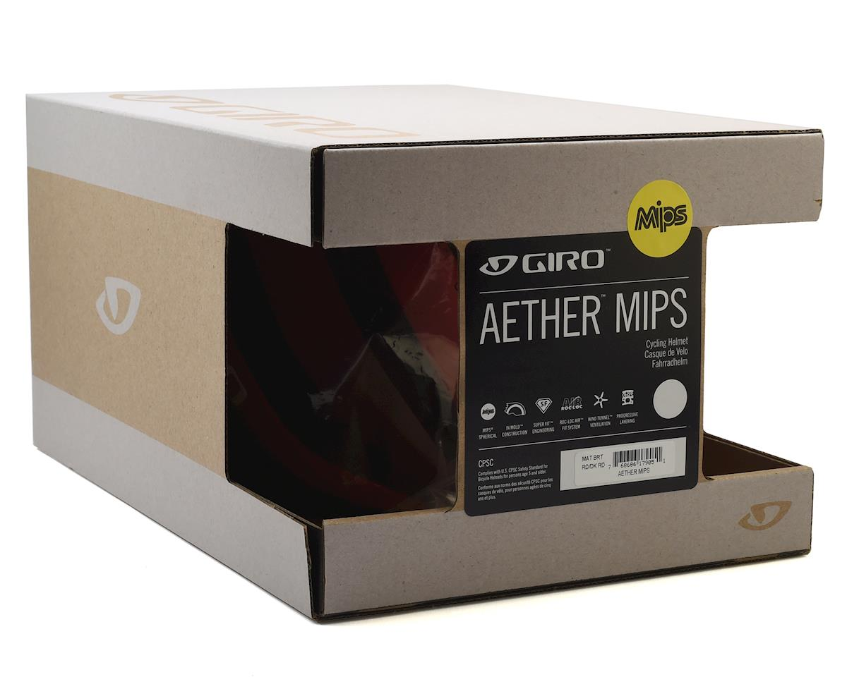 Giro Aether MIPS Helmet (Matte Bright Red/Dark Red) (S)