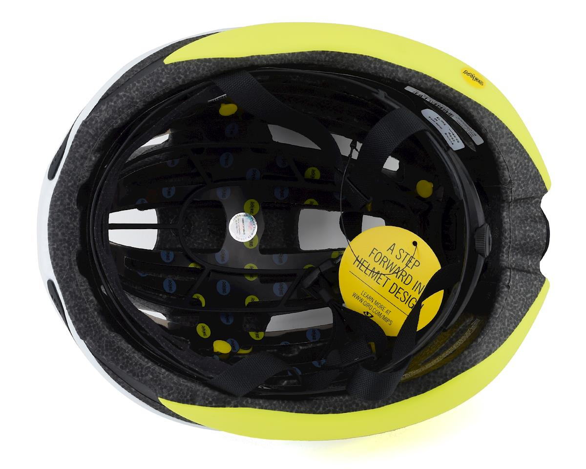 Giro Synthe MIPS Road Helmet (White/Citron) (L)