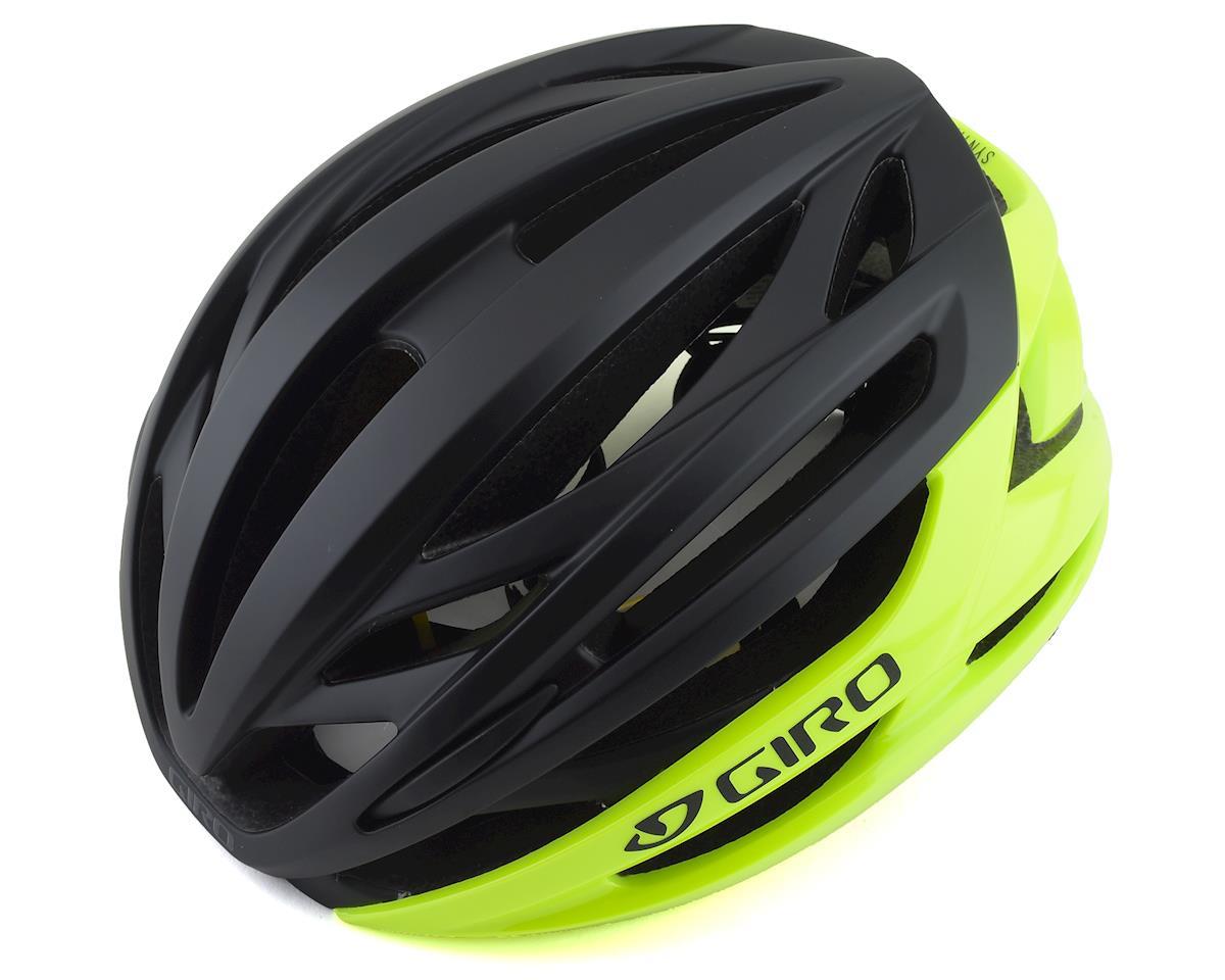 Giro Syntax MIPS Road Helmet (Hightlight Yellow/Matte Black) (L)