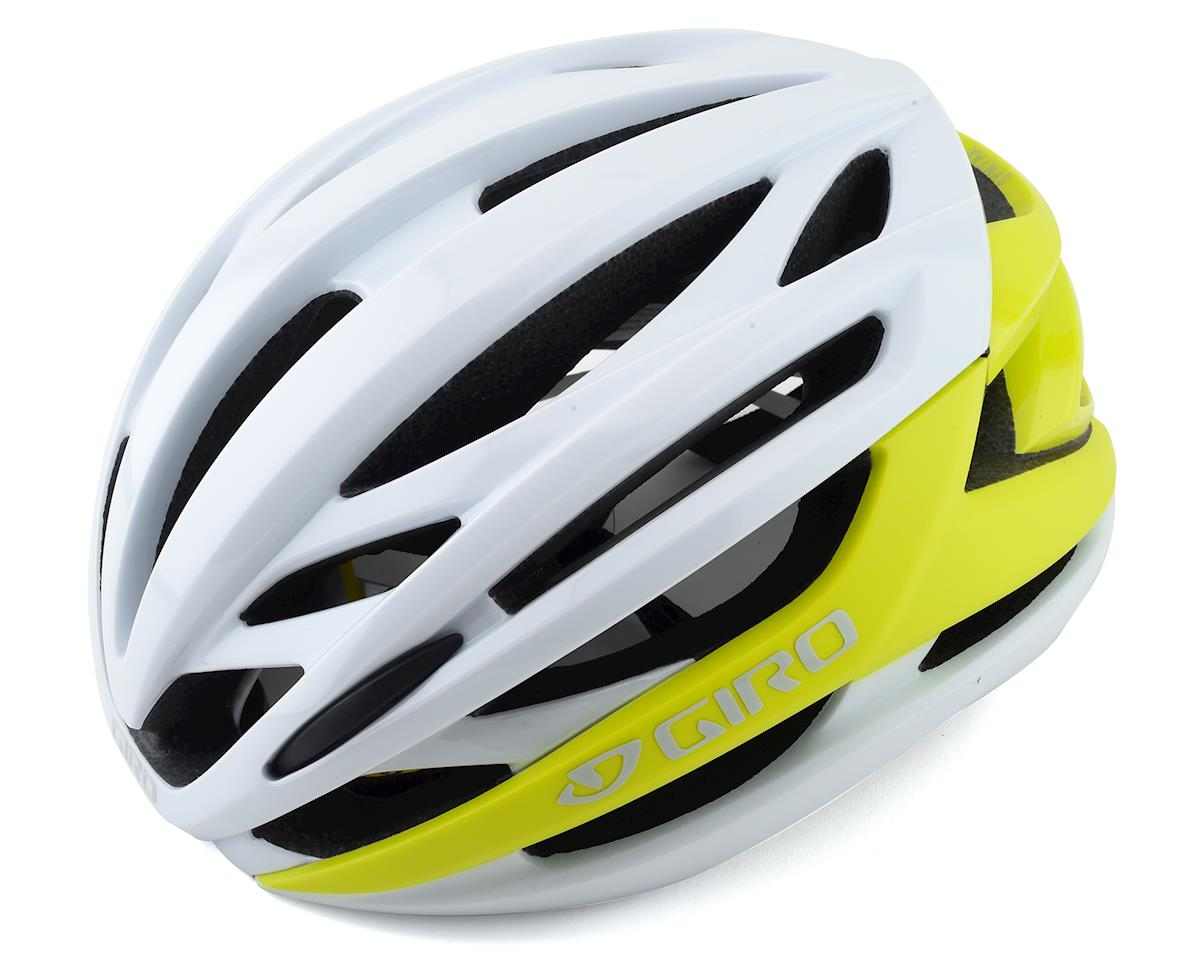 Giro Syntax MIPS Helmet (Matte Citron/White) (S)