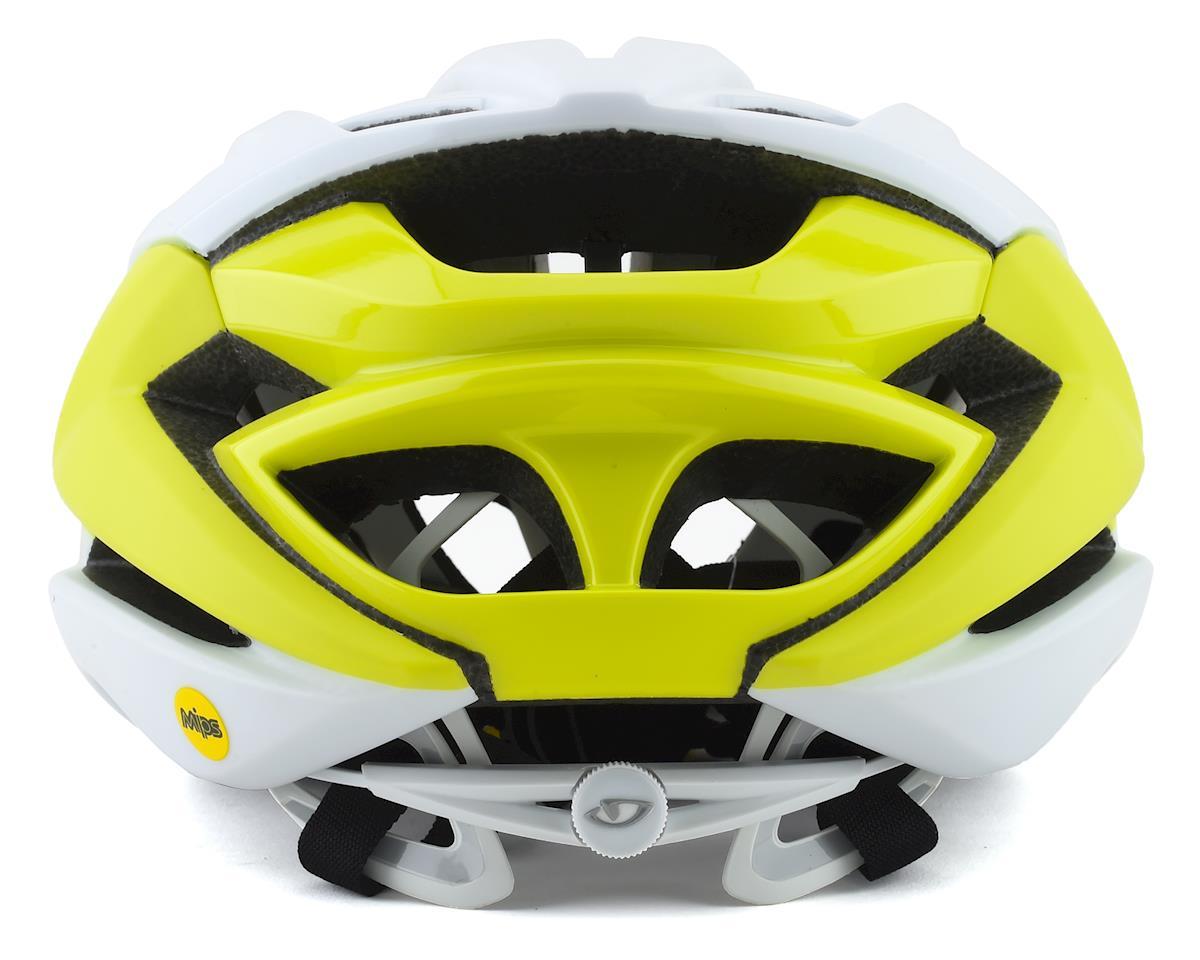 Giro Syntax MIPS Road Helmet (Matte Citron/White) (M)