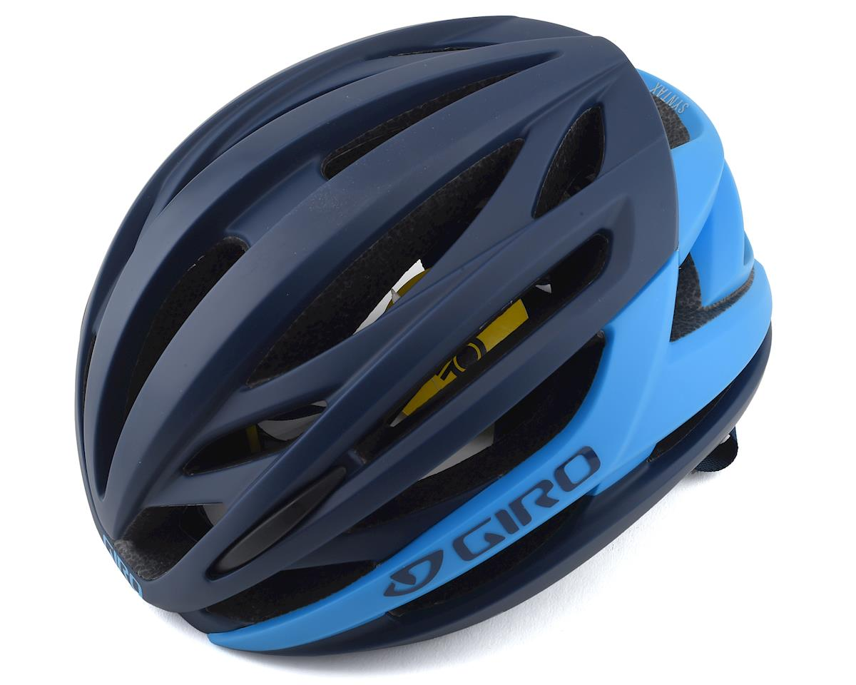 Giro Syntax MIPS Helmet(Midnight Blue/Blue) (L)