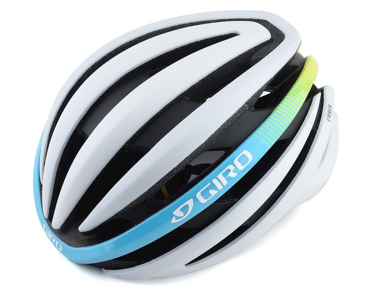 Giro Women's Ember MIPS Road Helmet (Matte White Heatwave) (M)